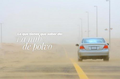 nube de polvo del sahara en Colombia